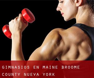gimnasios en Maine (Broome County, Nueva York)